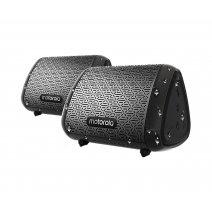 Parlantes x2 portátil Motorola SUB340 Bluetooth 11hs Waterproof