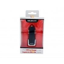 Cargador doble USB para Auto ideal Smartphones y Tablets