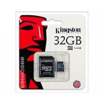 Memoria Microsd 32gb Kingston Clase4 Con Adaptador. Oferta