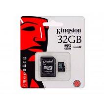 Memoria Microsd 32gb Kingston Clase10 Con Adaptador. Oferta