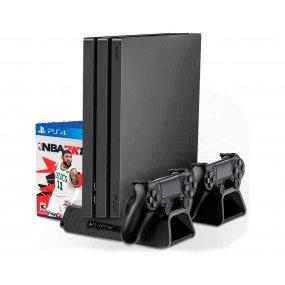 Soporte con ventilación recarga controles PS4 PS4 PRO PS4 Slim