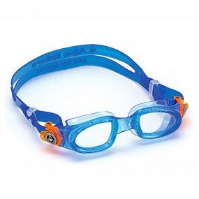 Lentes natación niños piscina claros color azul naranja OY