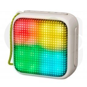 Parlante portatil Energy Sistem Beat Box 2 Granito Luminoso