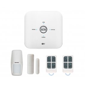 Alarma Casa Inalambrica Kit Gsm Wifi Completa Comercio Casas