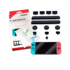 Protector pantalla y Kit de protección Dobe para Nintendo Switch OY