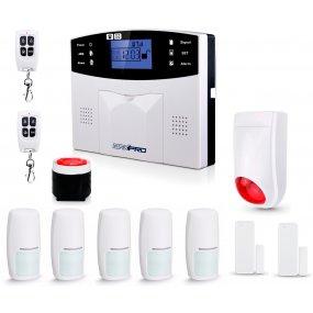 Alarma Casa Inalambrica Kit3 Gsm 3g, Completa, Comercio Casas