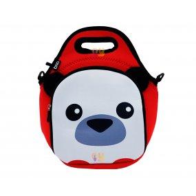 Lunchera Infantil Neopreno Diseño Panda Resistente al agua BRIO
