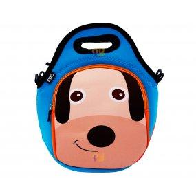 Lunchera Infantil Neopreno Diseño Perrito Resistente al agua BRIO