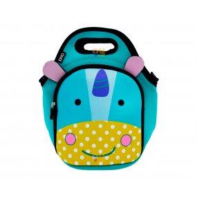 Lunchera Infantil Neopreno Diseño Unicornio Resistente al agua BRIO