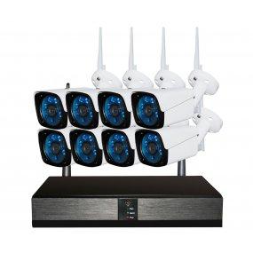 Kit Seguridad OFXPRO Dvr 48HD + 8 Camaras Metálicas Ext 1mp Wifi